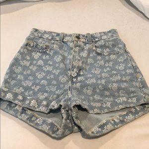 American Apparel High Waisted Demi Shorts